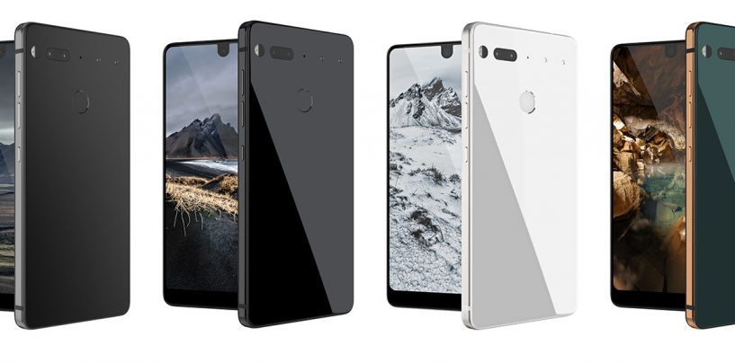 Criador do Android anuncia o Essential Phone