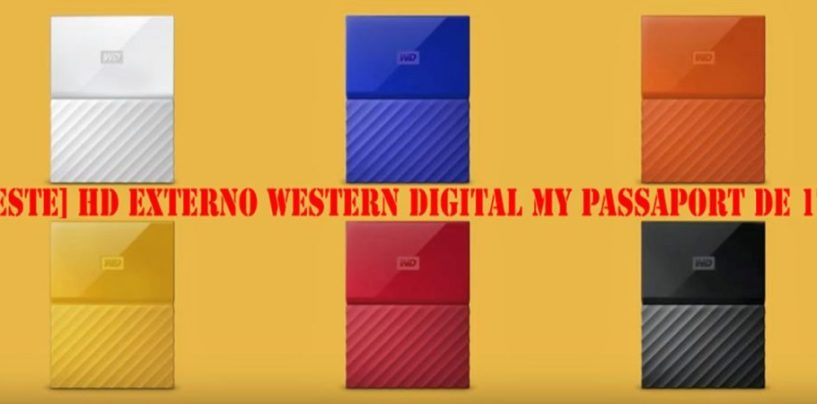 [TESTE] HD Externo Western Digital My Passport