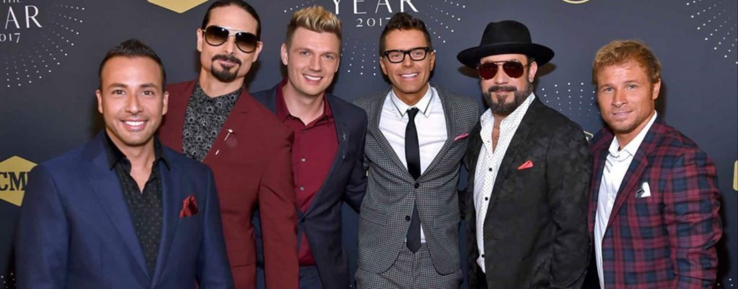 "Backstreet Boys lançam novo single ""Don't Go Breaking My Heart"""