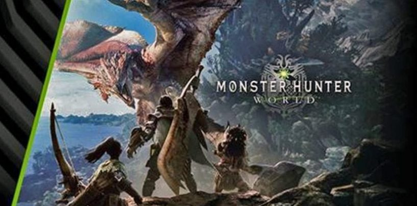 NVIDIA e CAPCOM anunciam bundle de Monster Hunter: World para o Brasil (com trailer!)