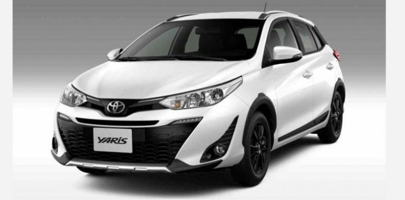 Toyota inicia vendas do Yaris X-Way no Brasil