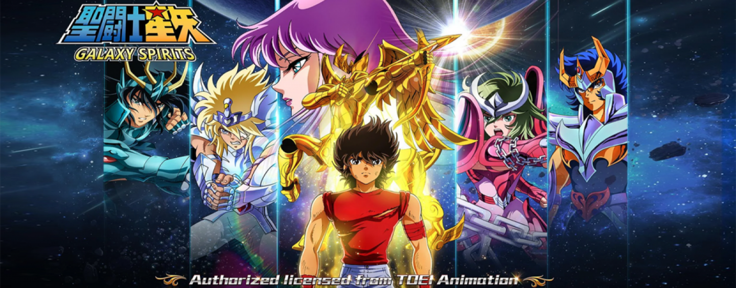 Novo game de Cavaleiros do Zodíaco, Saint Seiya: Galaxy Spirits chega ao Android