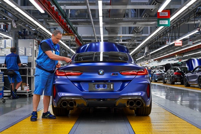 BMW Série 8 M8 Competition Coupé 44